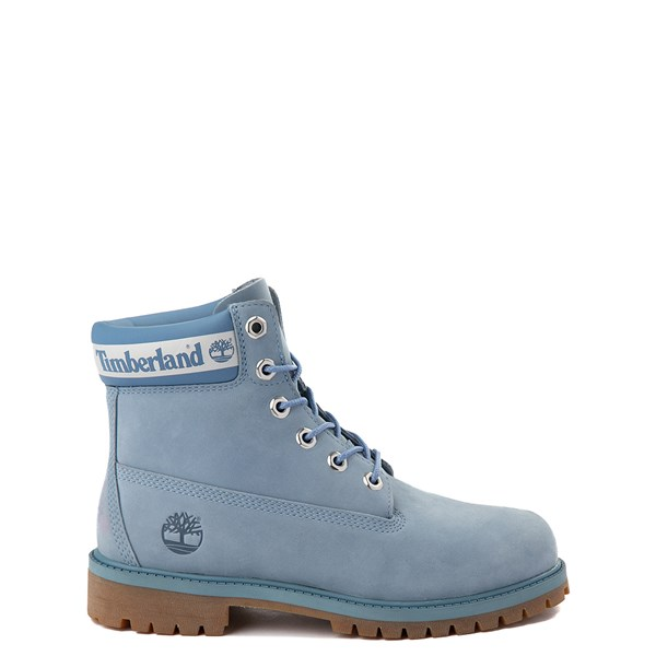 "Main view of Timberland 6"" Classic Boot - Big Kid - Cornflower Blue"