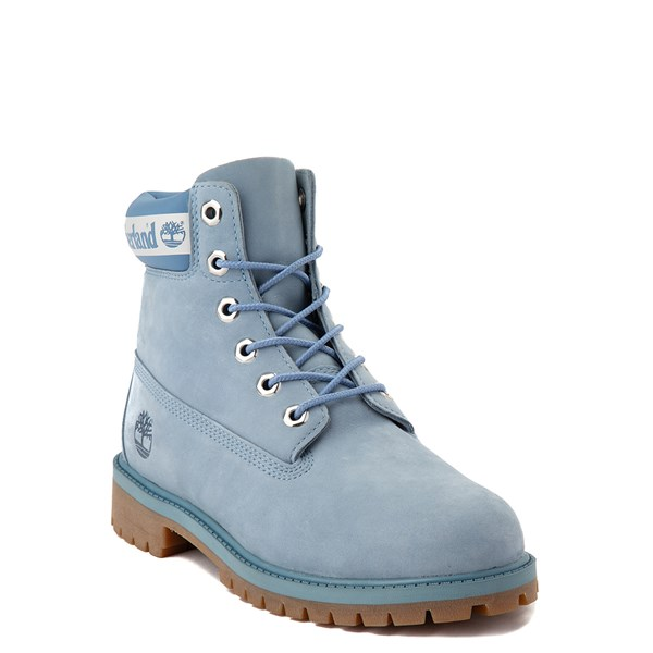 "alternate view Timberland 6"" Classic Boot - Big Kid - Cornflower BlueALT1"