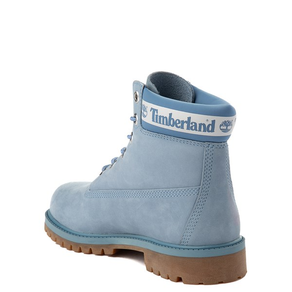 "alternate view Timberland 6"" Classic Boot - Big Kid - Cornflower BlueALT2"