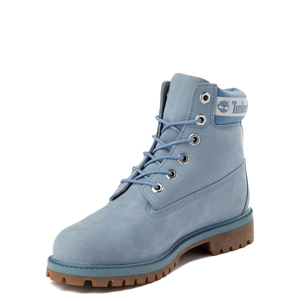 "alternate view Timberland 6"" Classic Boot - Big Kid - Cornflower BlueALT3"