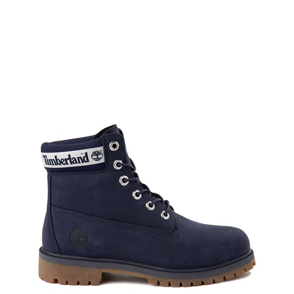 "Default view of Timberland 6"" Classic Boot - Big Kid - Peacoat Navy"