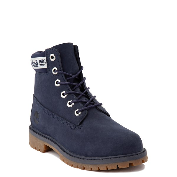 "Alternate view of Timberland 6"" Classic Boot - Big Kid - Peacoat Navy"