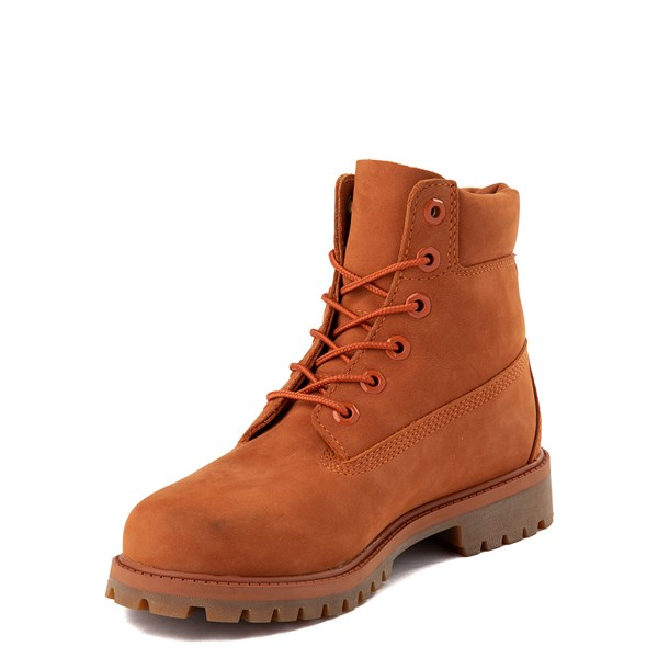"alternate view Timberland 6"" Classic Boot - Big Kid - PaprikaALT3"