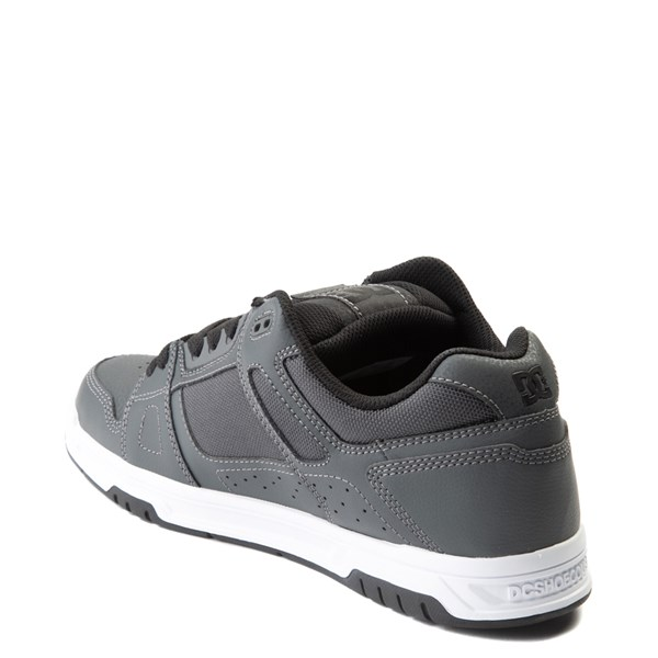 alternate view Mens DC Stag Skate Shoe - Dark GrayALT2