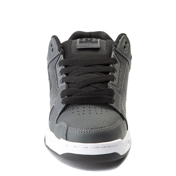 alternate view Mens DC Stag Skate Shoe - Dark GrayALT4