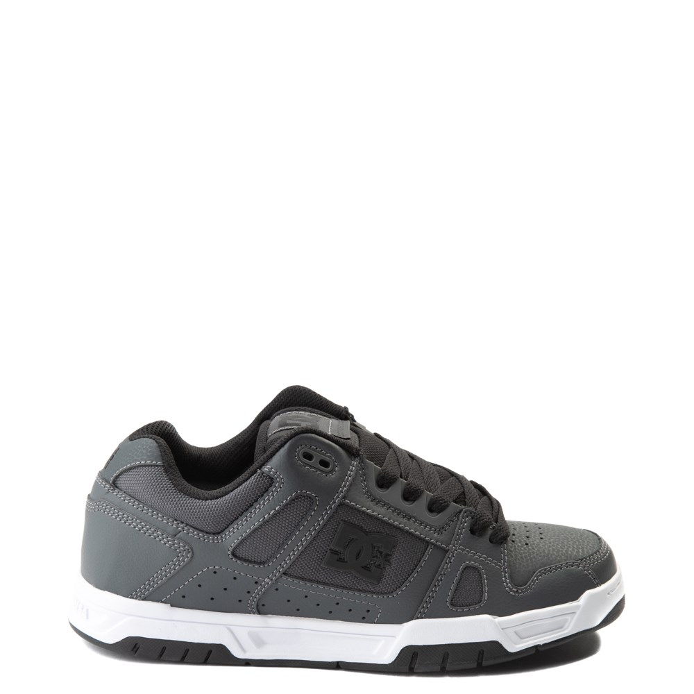 Mens DC Stag Skate Shoe - Dark Gray