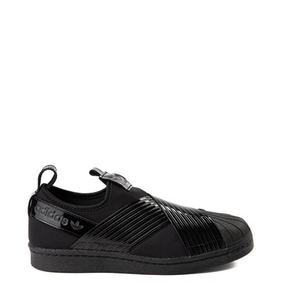 Main view of Womens adidas Superstar Slip On Out Loud Athletic Shoe