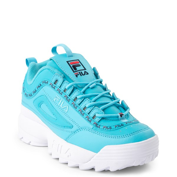 alternate view Womens Fila Disruptor 2 Premium Athletic Shoe - BlueALT1