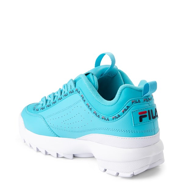 alternate view Womens Fila Disruptor 2 Premium Athletic Shoe - BlueALT2