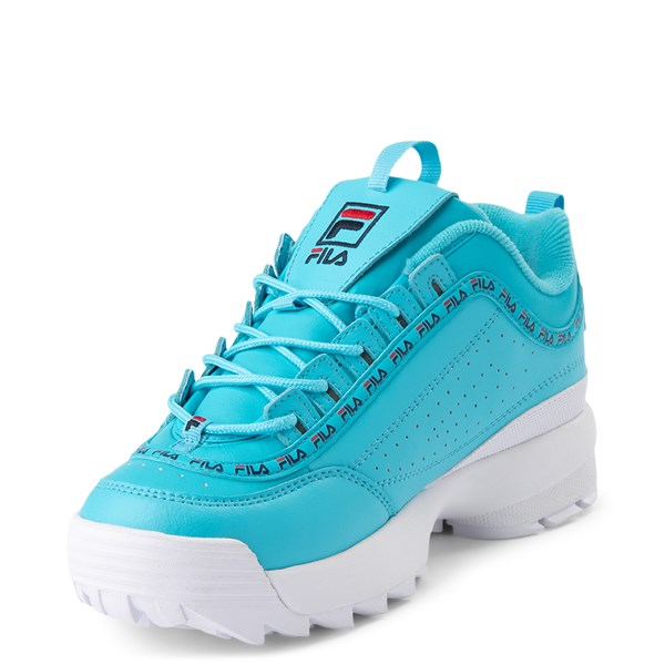 alternate view Womens Fila Disruptor 2 Premium Athletic Shoe - BlueALT3