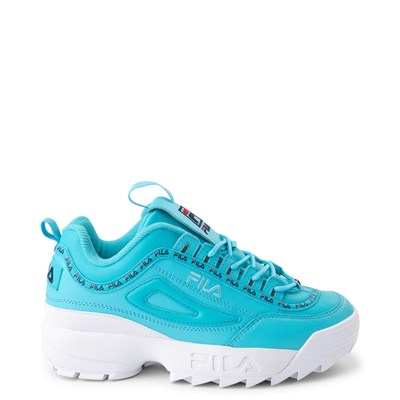 Main view of Womens Fila Disruptor 2 Premium Athletic Shoe - Blue