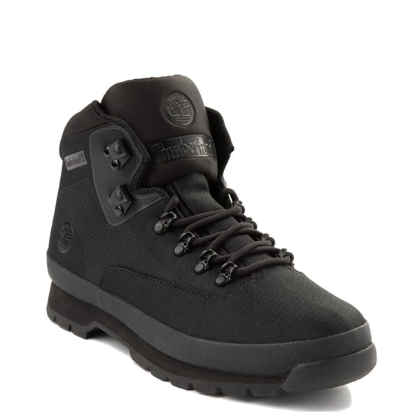 Alternate view of Mens Timberland Euro Hiker Jacquard Boot - Black