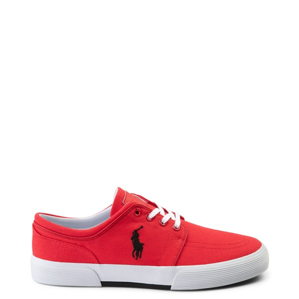 Mens Faxon Casual Shoe by Polo Ralph Lauren - Red