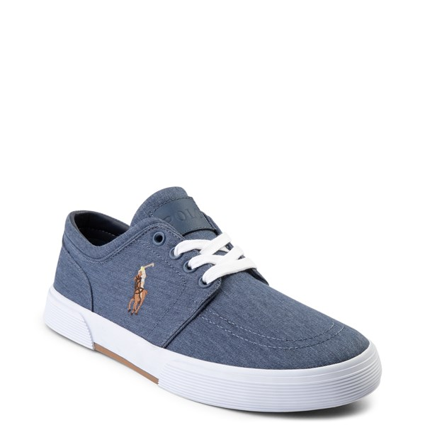 alternate view Mens Faxon Casual Shoe by Polo Ralph Lauren - NavyALT1