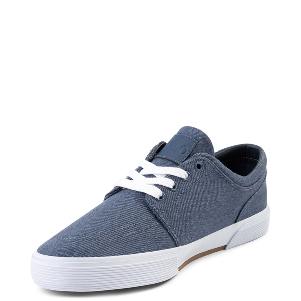 alternate view Mens Faxon Casual Shoe by Polo Ralph Lauren - NavyALT3