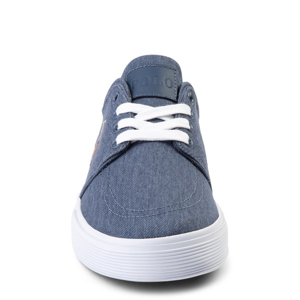 alternate view Mens Faxon Casual Shoe by Polo Ralph Lauren - NavyALT4