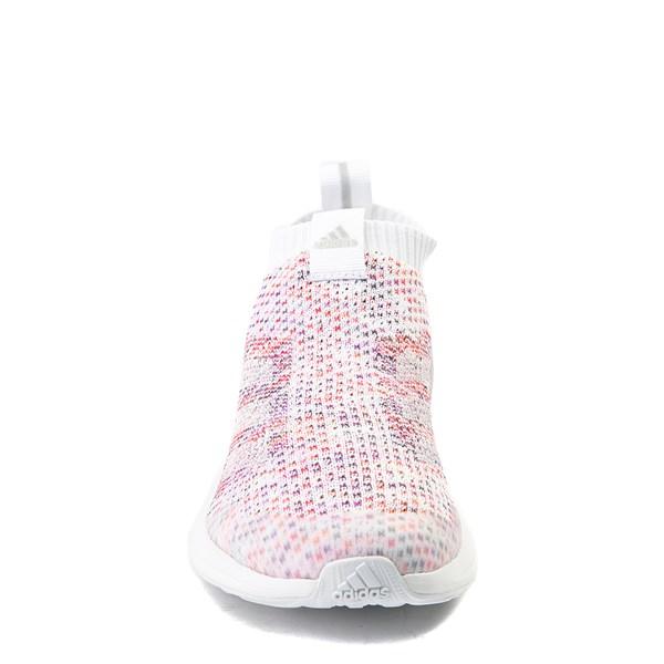 alternate view adidas RapidaRun Laceless Athletic Shoe - Big KidALT4