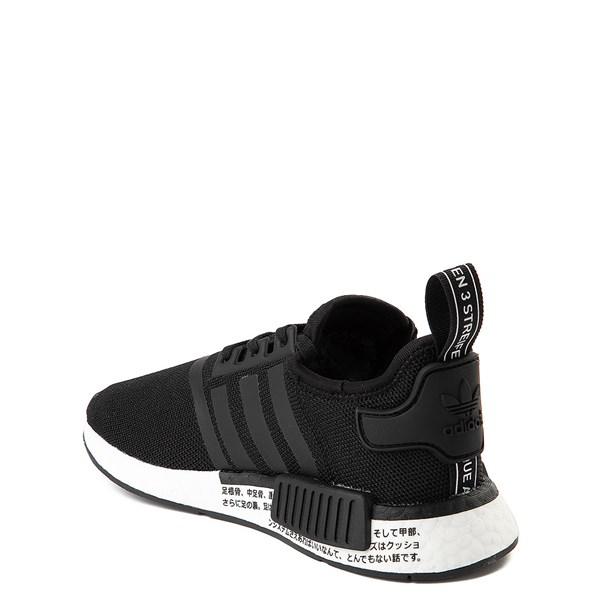 alternate view adidas NMD R1 Athletic Shoe - Big Kid - Core BlackALT2