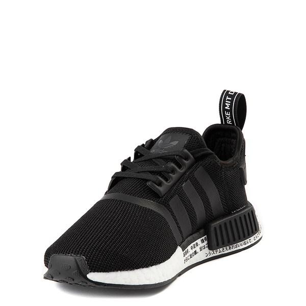 alternate view adidas NMD R1 Athletic Shoe - Big Kid - Core BlackALT3