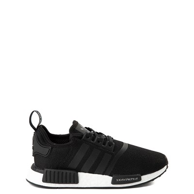 Main view of adidas NMD R1 Athletic Shoe - Big Kid - Core Black