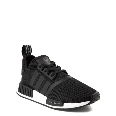 Alternate view of adidas NMD R1 Athletic Shoe - Big Kid - Core Black