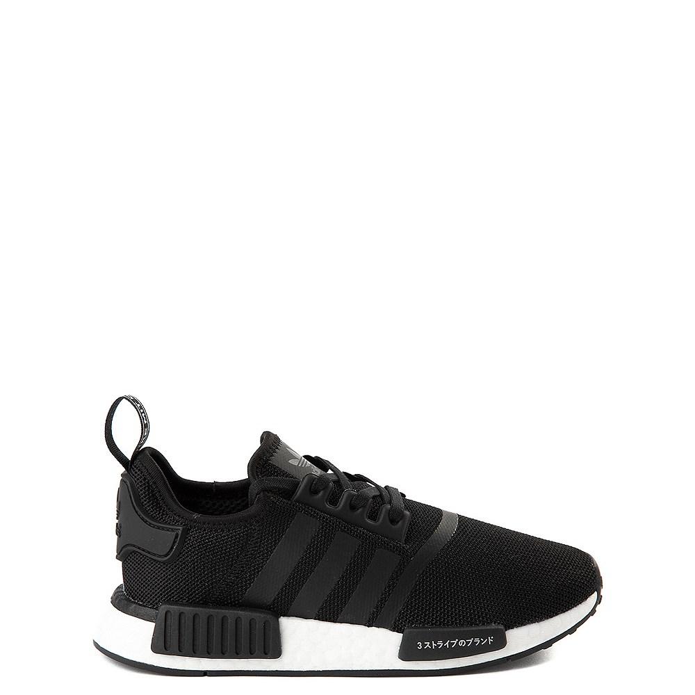 adidas NMD R1 Athletic Shoe - Big Kid - Core Black