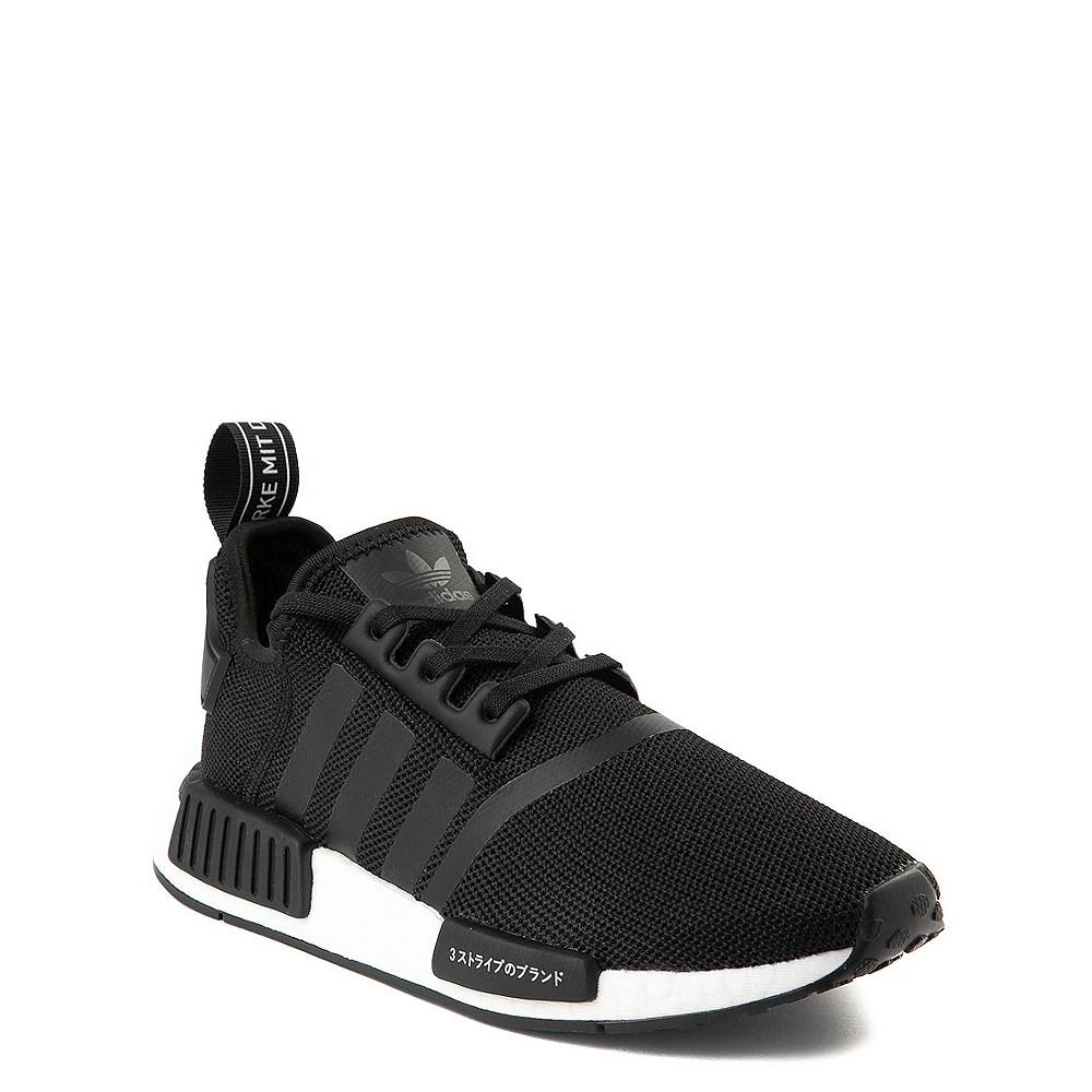 Adidas Nmd R1 Athletic Shoe Big Kid Core Black Journeys