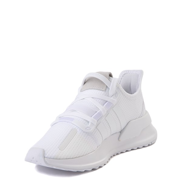 alternate view adidas U_Path Run Athletic Shoe - Big Kid - White MonochromeALT3