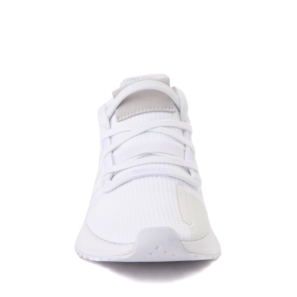 alternate view adidas U_Path Run Athletic Shoe - Big Kid - White MonochromeALT4
