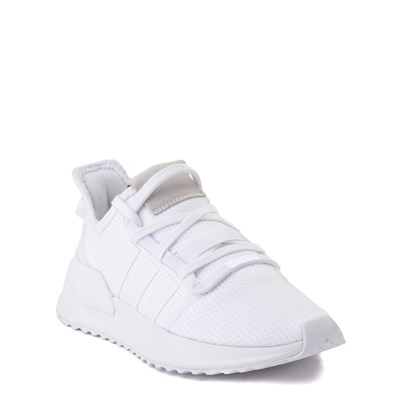 Alternate view of adidas U_Path Run Athletic Shoe - Big Kid - White Monochrome