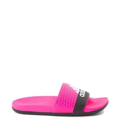 Main view of adidas Adilette Slide Sandal - Little Kid / Big Kid