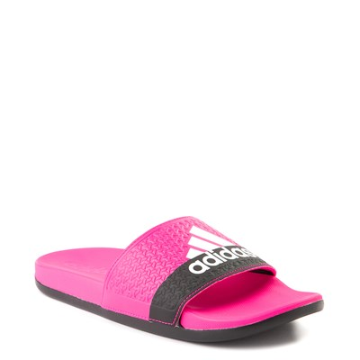 Alternate view of adidas Adilette Slide Sandal - Little Kid / Big Kid