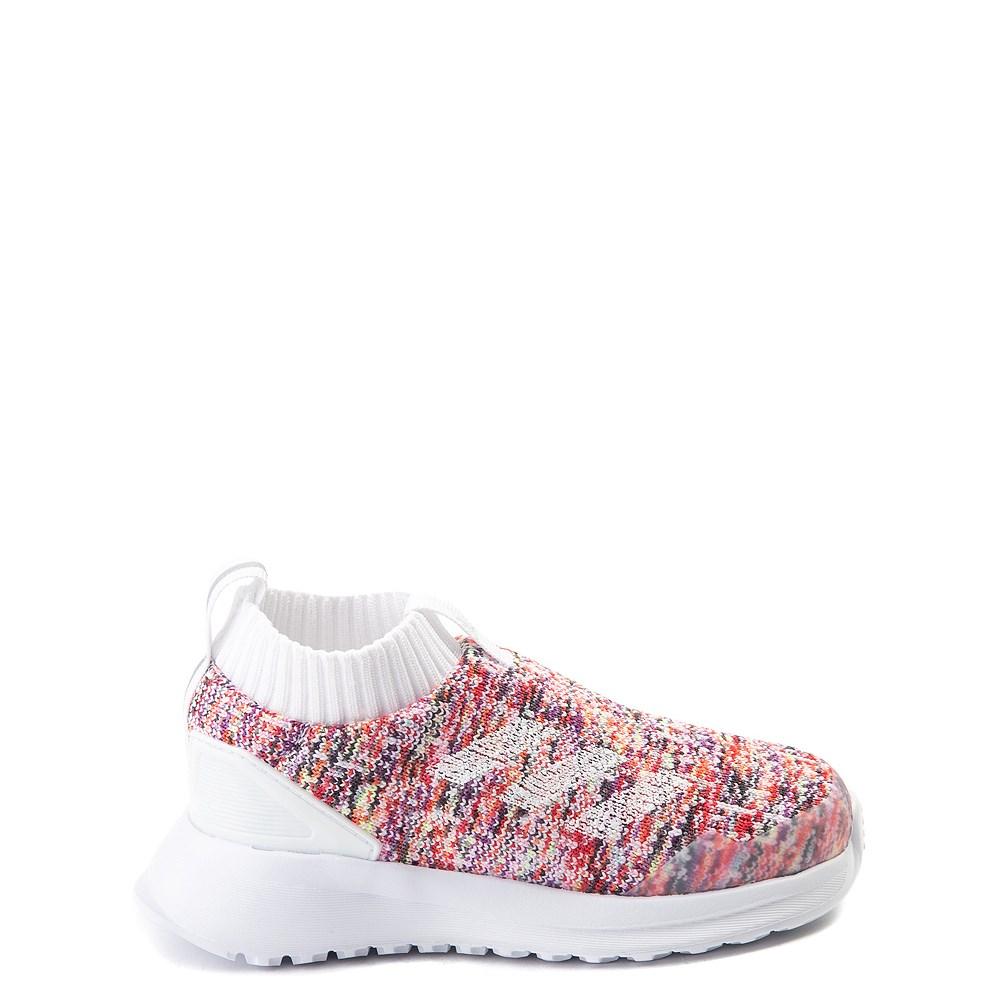 adidas RapidaRun Laceless Athletic Shoe -Toddler
