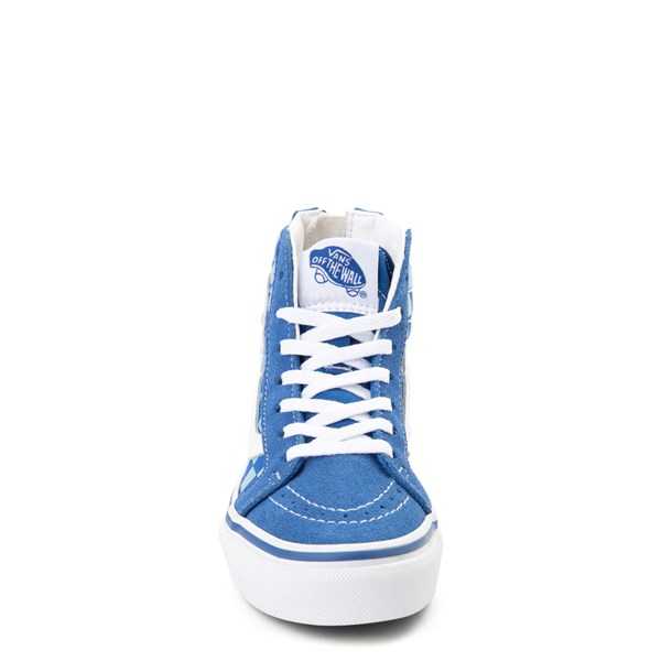 alternate view Vans x Discovery's Shark Week Sk8 Hi Zip Skate Shoe - Little Kid / Big Kid - BlueALT4
