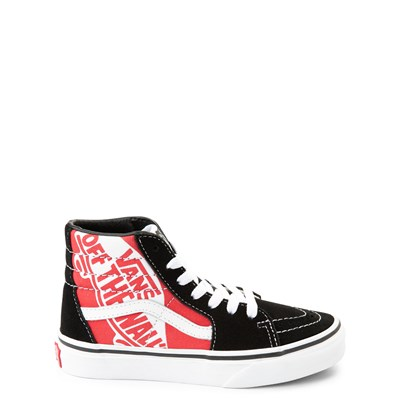 Main view of Vans Sk8 Hi Off The Wall Skate Shoe - Little Kid / Big Kid
