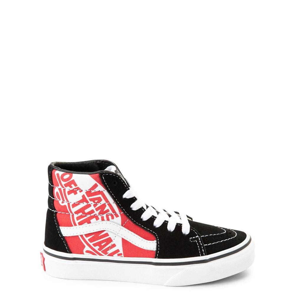 Vans Sk8 Hi Off The Wall Skate Shoe - Little Kid / Big Kid