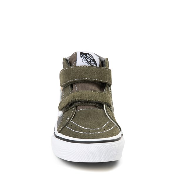 alternate view Vans Sk8 Mid V Off the Wall Skate Shoe - Little Kid / Big KidALT4