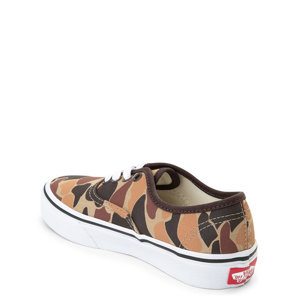 alternate view Vans Authentic Skate Shoe - Little Kid / Big Kid - Vintage CamoALT2