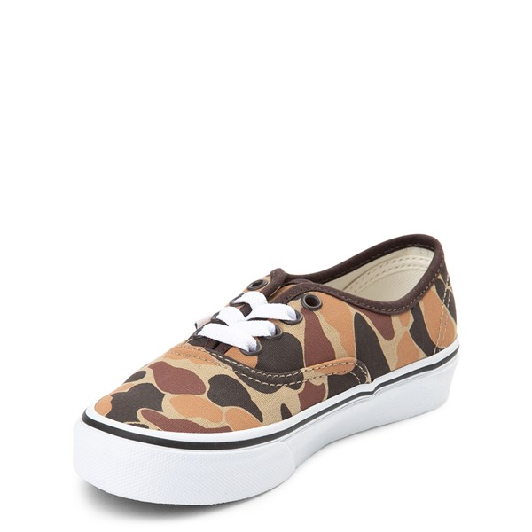 alternate view Vans Authentic Skate Shoe - Little Kid / Big Kid - Vintage CamoALT3