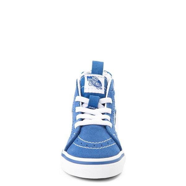 alternate view Vans x Discovery's Shark Week Sk8 Hi Zip Skate Shoe - Baby / Toddler - BlueALT4