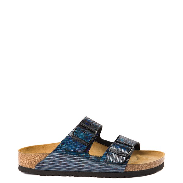 Womens Birkenstock Arizona Sandal - Black Hologram