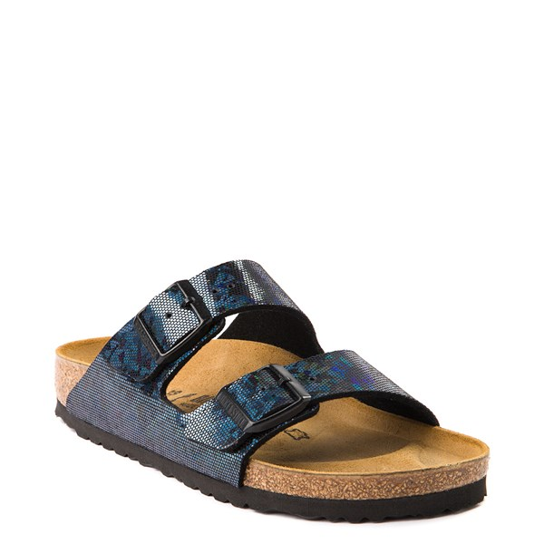alternate view Womens Birkenstock Arizona Sandal - Black HologramALT1