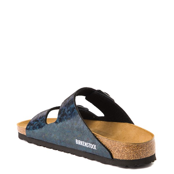 alternate view Womens Birkenstock Arizona Sandal - Black HologramALT2
