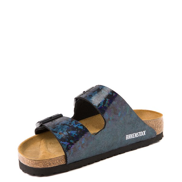 alternate view Womens Birkenstock Arizona Sandal - Black HologramALT3