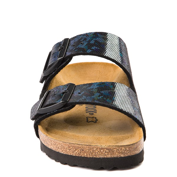 alternate view Womens Birkenstock Arizona Sandal - Black HologramALT4