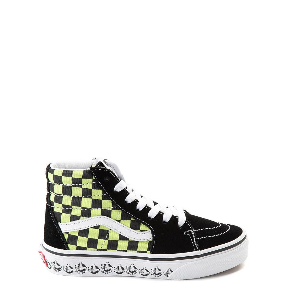 Vans Sk8 Hi BMX Checkerboard Skate Shoe - Little Kid / Big Kid