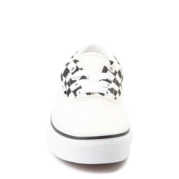 alternate view Vans Era BMX Checkerboard Skate Shoe - Little Kid / Big Kid - White / BlackALT4
