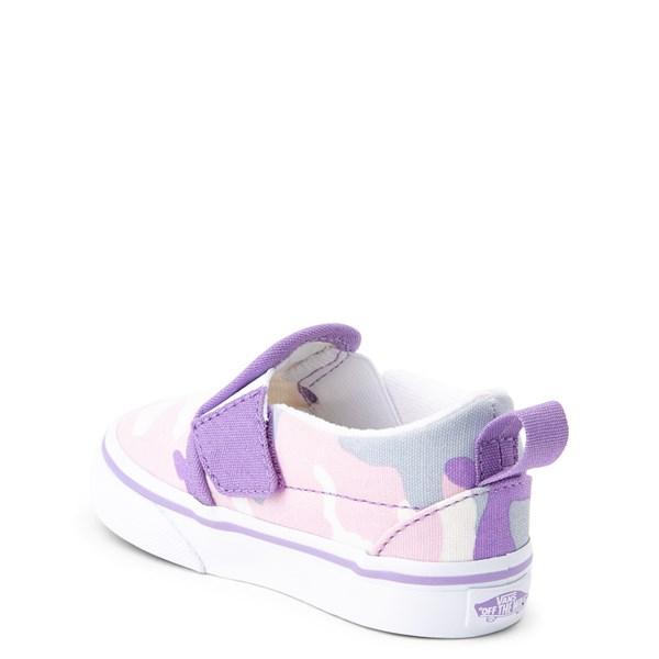 alternate view Vans Slip On V Skate Shoe - Baby / ToddlerALT2