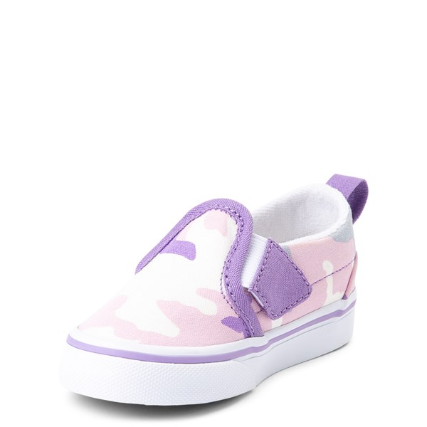 alternate view Vans Slip On V Skate Shoe - Baby / ToddlerALT3