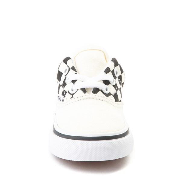 alternate view Vans Era BMX Checkerboard Skate Shoe - Baby / Toddler - White / BlackALT4